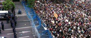 La manifestazione Rodea el Congreso del 25 settembre 2012 a Madrid