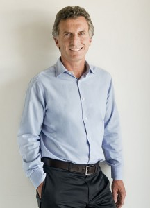 Mauricio Macri, candidato alla presidenza dell'Argentina.