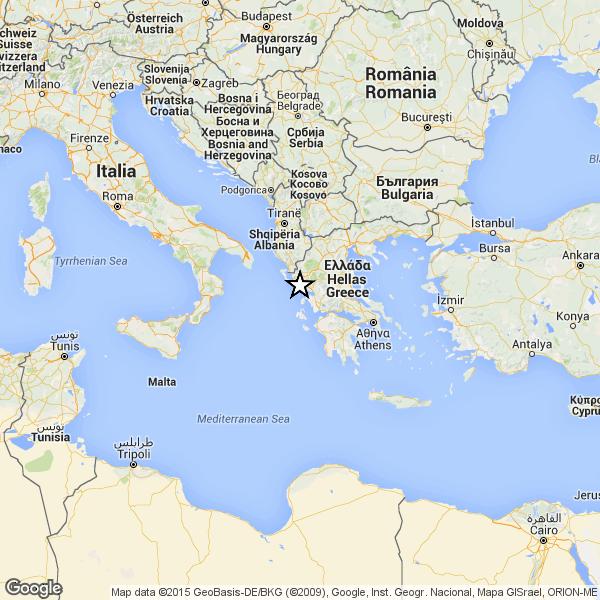 Cartina Puglia Grecia.Forte Terremoto In Grecia La Scossa Avvertita In Tutto Il Sud Italia El Itagnol