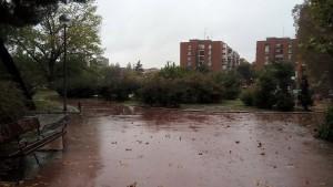 Madrid pioggia
