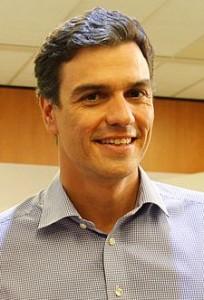 Il leader del Partito Socialista spagnolo (PSOE), Pedro Sanchez