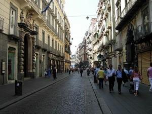 via Toledo Napoli