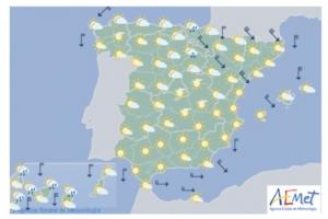 Cartina Meteo Spagna.Spagna Che Tempo Fara Nei Giorni Di Pasqua 2016 El Itagnol